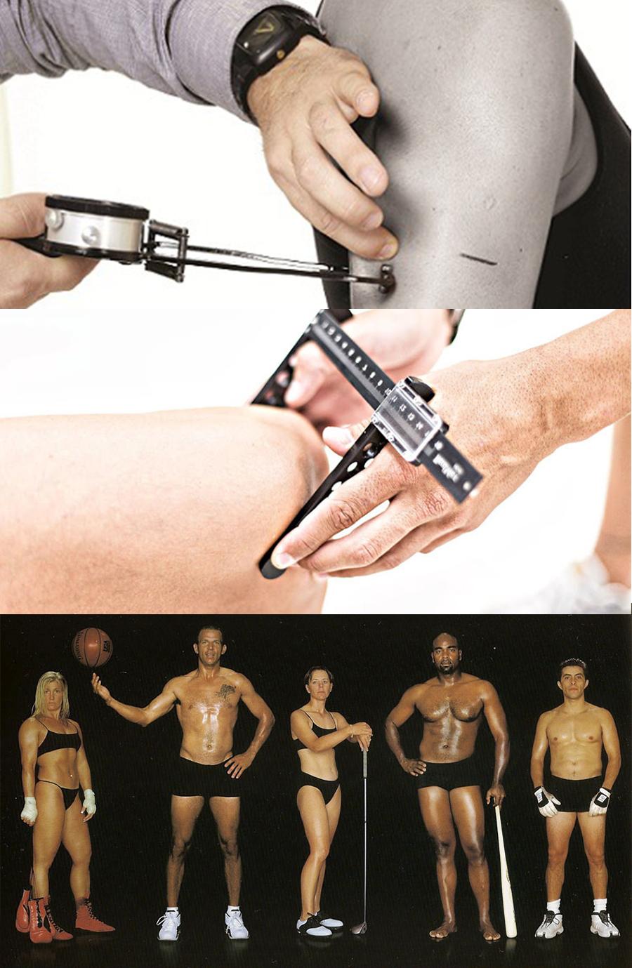 medición de pliegues corporales