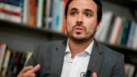 Ministro de consumo, Alberto Garzón, hablando sobre la subida del IVA a la comida rápida