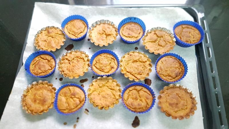 Magdalenas de zanahoria o muffins carrot cake