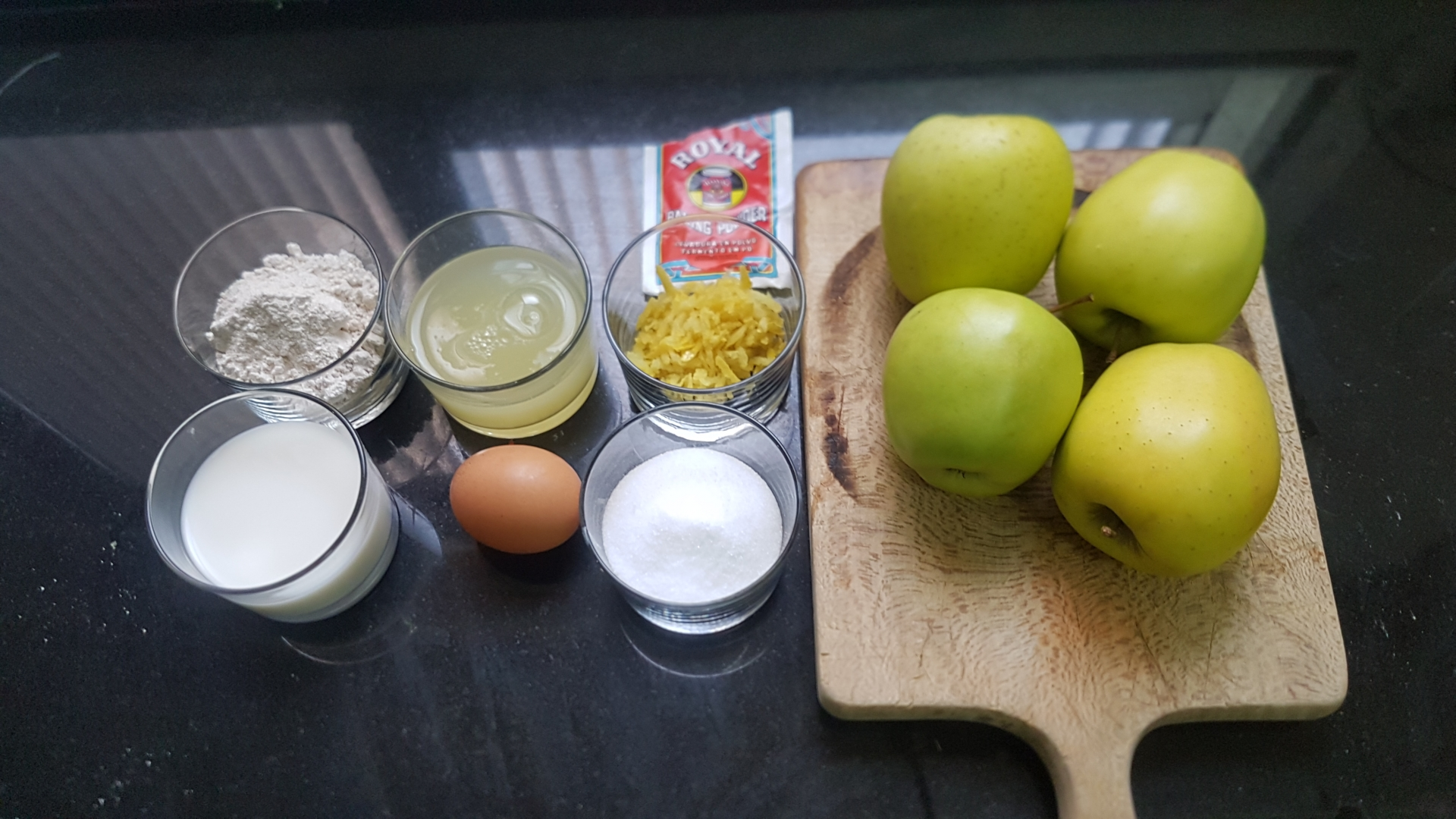 Ingredientes Tarta de manzana